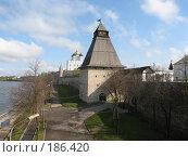 Купить «Псков, Кремль», фото № 186420, снято 4 мая 2007 г. (c) ИВА Афонская / Фотобанк Лори