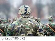 Купить «Солдаты», фото № 186572, снято 18 ноября 2006 г. (c) Vladimirs Koskins / Фотобанк Лори