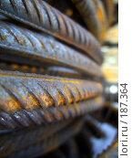 Купить «Кольцевая арматура», фото № 187364, снято 26 января 2008 г. (c) Андрей Никитин / Фотобанк Лори