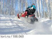 Купить «Гонка на снегоходах», фото № 188060, снято 20 января 2008 г. (c) Талдыкин Юрий / Фотобанк Лори