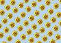 Голубой фон с подсолнухами, иллюстрация № 191284 (c) Лукиянова Наталья / Фотобанк Лори