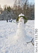 Купить «Фигура Снеговика», фото № 193780, снято 4 февраля 2008 г. (c) Светлана Силецкая / Фотобанк Лори