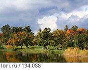 Купить «Осенний пейзаж (Пушкин)», фото № 194088, снято 23 сентября 2007 г. (c) Наталья Белотелова / Фотобанк Лори