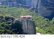 Купить «Монастырь Русану в Метеорах.Греция», фото № 195424, снято 1 июля 2007 г. (c) Юлия Селезнева / Фотобанк Лори