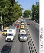 Купить «Пробка на дороге», фото № 196756, снято 1 января 2003 г. (c) Юлия Дашкова / Фотобанк Лори
