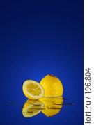 Лимон. Стоковое фото, фотограф Григорий Сухарев / Фотобанк Лори
