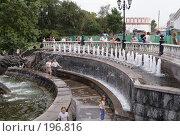 Купить «Фонтаны на Манежной площади», фото № 196816, снято 27 августа 2005 г. (c) Андрей Ерофеев / Фотобанк Лори