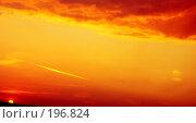 Купить «Красный вечер», фото № 196824, снято 16 августа 2007 г. (c) Анатолий Теребенин / Фотобанк Лори