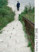 Купить «Старая лестница», фото № 197588, снято 26 августа 2007 г. (c) Юрий Синицын / Фотобанк Лори