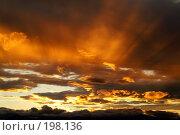 Купить «Камчатский закат после ненастья», фото № 198136, снято 4 октября 2006 г. (c) Ирина Игумнова / Фотобанк Лори