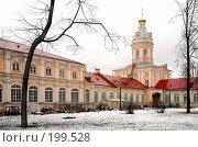 Купить «Александро-Невская лавра», фото № 199528, снято 8 февраля 2008 г. (c) Parmenov Pavel / Фотобанк Лори