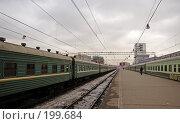 Купить «На вокзале», фото № 199684, снято 10 февраля 2008 г. (c) Андрей Ерофеев / Фотобанк Лори
