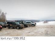 Купить «Внедорожники», фото № 199952, снято 9 февраля 2008 г. (c) Сергей Лаврентьев / Фотобанк Лори