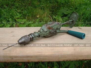 Купить «Очень старая дрель», фото № 201564, снято 24 августа 2006 г. (c) Olya&Tyoma / Фотобанк Лори