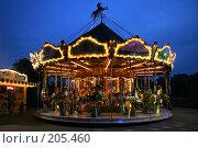 Купить «Французская карусель», фото № 205460, снято 10 мая 2007 г. (c) Юлия Кузнецова / Фотобанк Лори