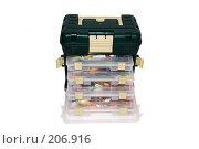 Купить «Ящик для рыболовных снастей», фото № 206916, снято 13 февраля 2008 г. (c) Алёшина Оксана / Фотобанк Лори