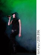 Купить «Настя Приходько», фото № 209896, снято 24 февраля 2008 г. (c) Илья Малышев / Фотобанк Лори