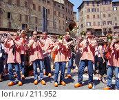 Джазовые музыканты. Сиена. Италия (2005 год). Редакционное фото, фотограф Александр Леденев / Фотобанк Лори
