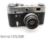 Купить «Советский фотоаппарат ФЭД-3», фото № 212028, снято 27 февраля 2008 г. (c) Валерий Александрович / Фотобанк Лори