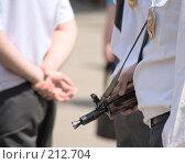 Купить «Служить и защищать», фото № 212704, снято 12 июня 2007 г. (c) Сергей Байков / Фотобанк Лори