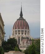 Купол здания парламента в г. Будапешт. Стоковое фото, фотограф Мария Коробкина / Фотобанк Лори