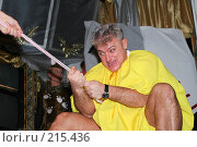 Купить «Владимир Турчинский (Динамит)», эксклюзивное фото № 215436, снято 4 декабря 2005 г. (c) Ирина Мойсеева / Фотобанк Лори