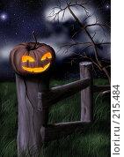 Купить «Хэллоуин», иллюстрация № 215484 (c) Боев Дмитрий / Фотобанк Лори