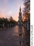 Купить «Колокольня Никольского собора», эксклюзивное фото № 216228, снято 18 октября 2007 г. (c) Александр Алексеев / Фотобанк Лори