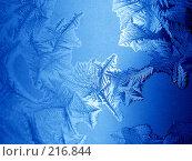 Купить «Морозный узор», фото № 216844, снято 19 сентября 2018 г. (c) ElenArt / Фотобанк Лори
