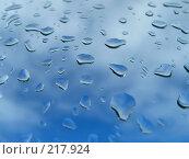 Купить «Капли воды», фото № 217924, снято 8 декабря 2019 г. (c) ElenArt / Фотобанк Лори