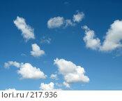 Купить «Голубое небо», фото № 217936, снято 16 сентября 2019 г. (c) ElenArt / Фотобанк Лори