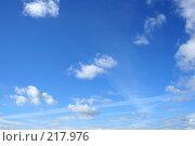 Купить «Летнее небо», фото № 217976, снято 16 сентября 2019 г. (c) ElenArt / Фотобанк Лори
