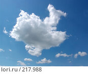 Купить «Небо. Облака», фото № 217988, снято 16 сентября 2019 г. (c) ElenArt / Фотобанк Лори