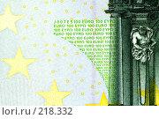 Купить «Евро», фото № 218332, снято 16 августа 2018 г. (c) ElenArt / Фотобанк Лори