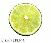 Купить «Долька лимона», фото № 218644, снято 22 мая 2018 г. (c) ElenArt / Фотобанк Лори