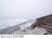 Купить «Вид на туманную Неву. Санкт-Петербург», эксклюзивное фото № 219500, снято 16 декабря 2007 г. (c) Александр Алексеев / Фотобанк Лори
