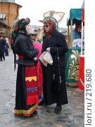 Купить «Две женщины», фото № 219680, снято 7 марта 2008 г. (c) Елена Прокопова / Фотобанк Лори
