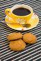 Чашка кофе и овсяное печенье, фото № 219876, снято 29 февраля 2008 г. (c) Вадим Пономаренко / Фотобанк Лори