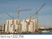 Купить «Санкт-Петербург. Строительство нового панельного дома», фото № 222756, снято 10 марта 2008 г. (c) Александр Секретарев / Фотобанк Лори