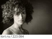Купить «Портрет девушки», фото № 223084, снято 14 июля 2007 г. (c) Кирилл Николаев / Фотобанк Лори