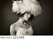 Купить «Портрет девушки в меховой шапке», фото № 223088, снято 14 июля 2007 г. (c) Кирилл Николаев / Фотобанк Лори