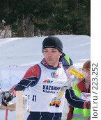 Купить «13-кратный чемпион мира по лыжному ориентированию Эдуард Хренников», фото № 223252, снято 22 февраля 2019 г. (c) Андрей Жданов / Фотобанк Лори