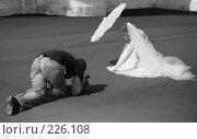 Купить «Невеста и оператор», фото № 226108, снято 18 августа 2007 г. (c) Морозова Татьяна / Фотобанк Лори