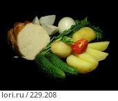 """Купить «Ужин """"постного стола""""», эксклюзивное фото № 229208, снято 21 марта 2008 г. (c) lana1501 / Фотобанк Лори"""