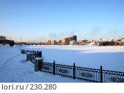 Купить «Зимний пейзаж», фото № 230280, снято 17 августа 2018 г. (c) Книжников Борис / Фотобанк Лори