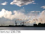 Купить «Металлургический завод. Норильск», фото № 230736, снято 17 июня 2005 г. (c) Егорова Елена / Фотобанк Лори