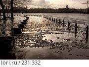 Купить «Санкт-Петербург, наводнение», фото № 231332, снято 3 февраля 2008 г. (c) Андрюхина Анастасия / Фотобанк Лори