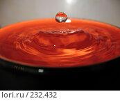 Купить «Капля воды, падающая в чашку», фото № 232432, снято 23 марта 2008 г. (c) Заноза-Ру / Фотобанк Лори