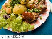 Купить «Вкусное блюдо», фото № 232516, снято 17 июля 2005 г. (c) Кравецкий Геннадий / Фотобанк Лори