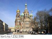 Купить «Санкт-Петербург. Собор Спаса на Крови», фото № 232596, снято 2 апреля 2005 г. (c) Александр Секретарев / Фотобанк Лори